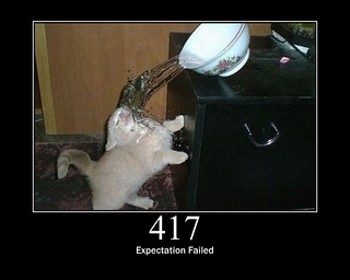 417 - Expectation Failed | by GirlieMac
