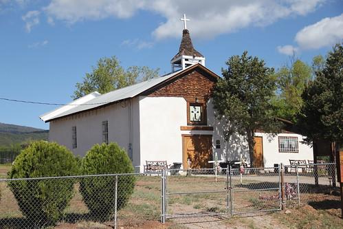 San Antonito Catholic Mission, San Antonito, NM