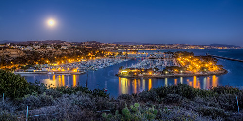 Harbor Moon | by Justin in SD