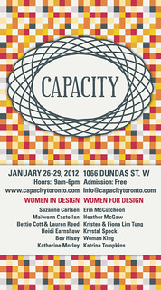 Capacity-2012-AD | by Toronto Craft Alert