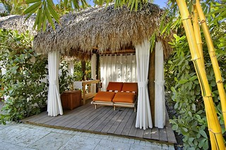 Tiki cabana side | by thepalmshotel