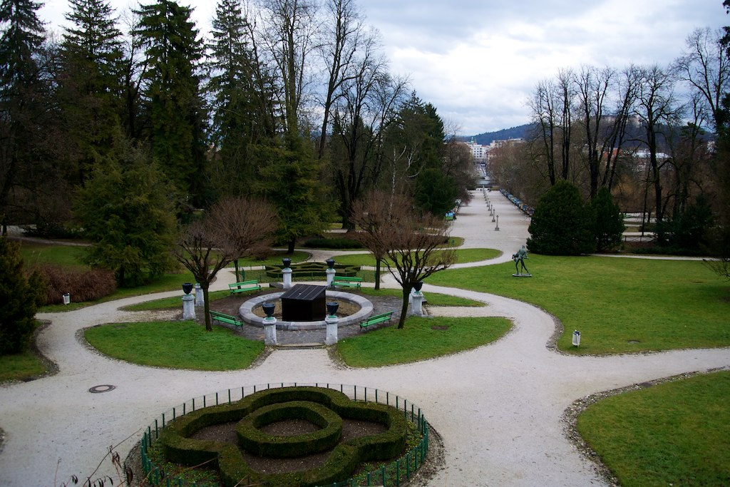 Ljubljana - Parco Tivoli