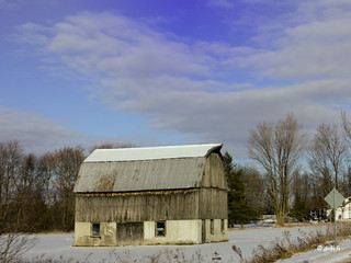 January Barn | by gabi-h