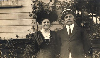 Henry Mobsby and his wife Mary Ellen (Nellie) - very early 1900s | by Aussie~mobs