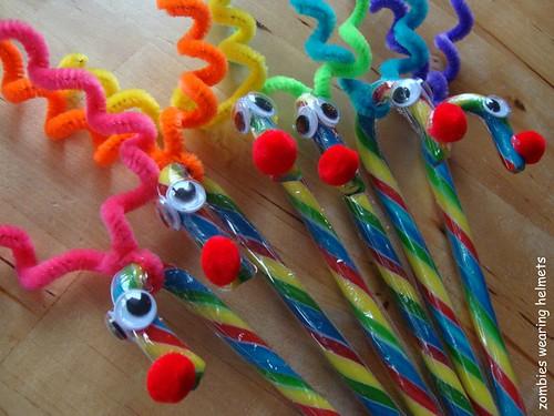 Candy Cane Reindeer Craft Kids