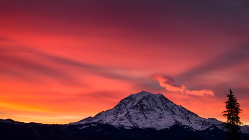 Morning over Mount Rainier | by jd_hiker