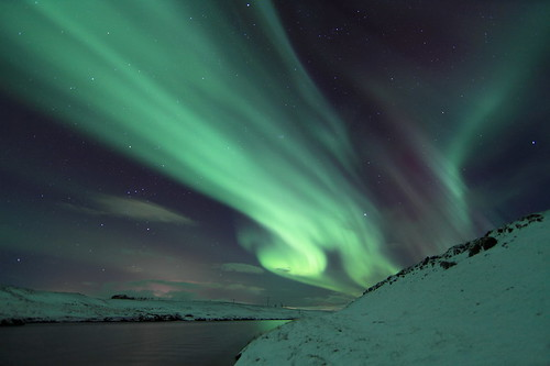 Northern lights Iceland | by olgeir