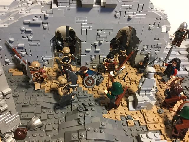 Osgiliath Under Siege