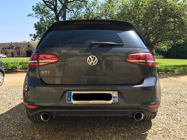 frenchbenz  golf 7 gti pack performance