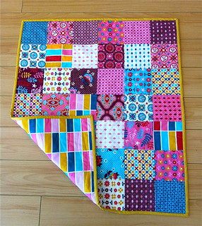 class sample-Charming Patchwork Quilt | by uppitygirl