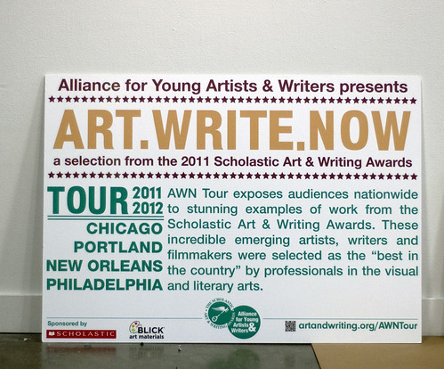 ART.WRITE.NOW Install | by PNCA YOUTH PROGRAM