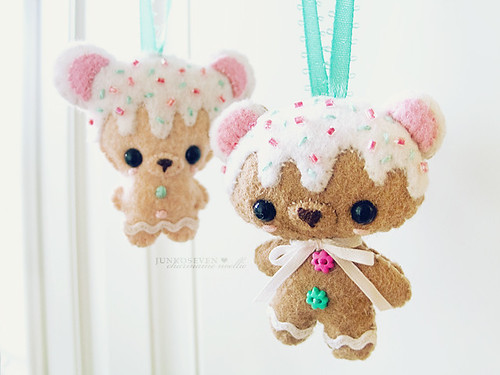 Cookie Bear Door Hangers | by junkoseven
