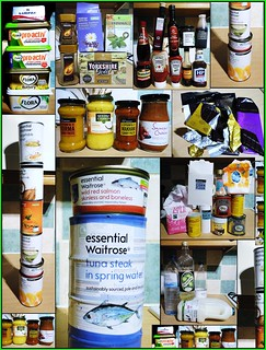 ... 'cos I CAN! A cupboard collection in a collage. | by bazzadarambler