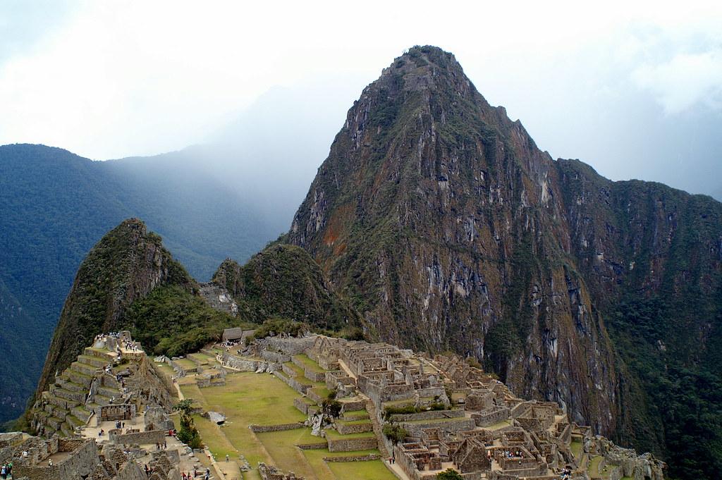 View to Machu Picchu