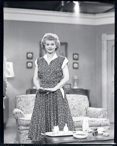 Lucy On The Set Of I Love Lucy Lucille Ball Lucy Fan