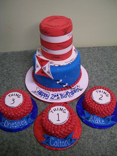 Dr. Seuss | by Brenda's Cakes - Ohio