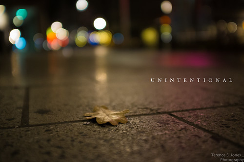 unintentional | by Terence S. Jones