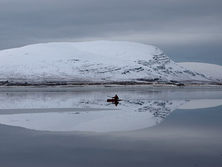 Kayaking in winter | by hó