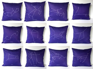 Zodiac Pillows | by cath @ chunkychooky