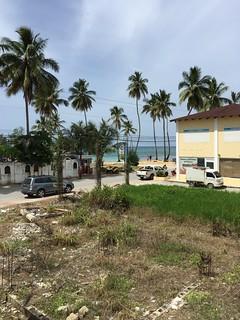 Hotel Guayacan - Beach view / Blick zum Strand