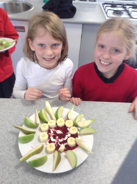 Year 3 & 4 students enjoy Culinary Arts
