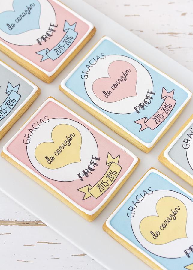 papel azucar galletas