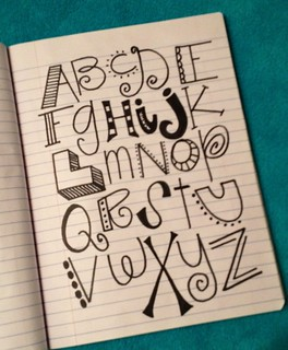 Alphabet | by denisedaysmith