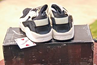 Nike Free Og Red Black Shoes