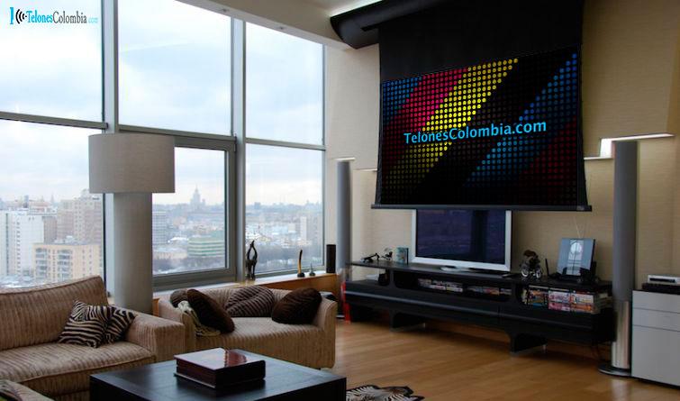 Telones electricos para video beam mercadolibre