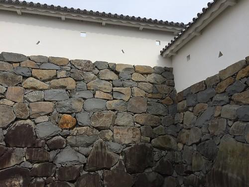 甲府歴史公園 石垣
