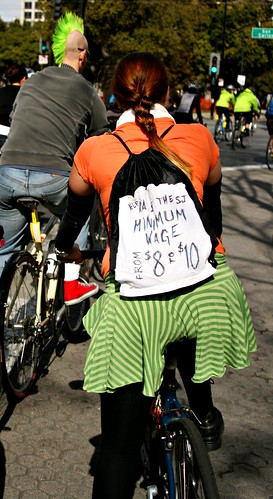 Raise the Minimum Wage | by Richard Masoner / Cyclelicious
