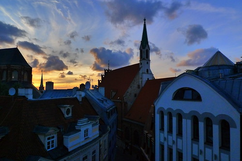 View from our window - Riga, Latvia