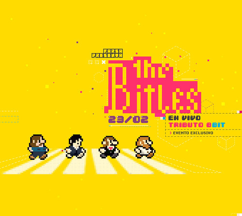 The Bitles - tributo 8bit | by ale.pixel