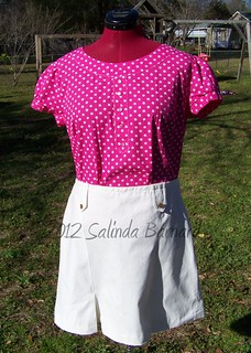 Simplicity 2211 Top and Skirt | by salinda7