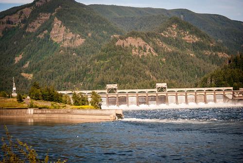Bonneville Dam Area