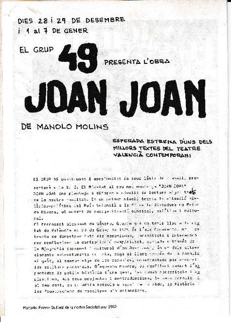 PROGRAMES DE MÀ. Anys 70/80