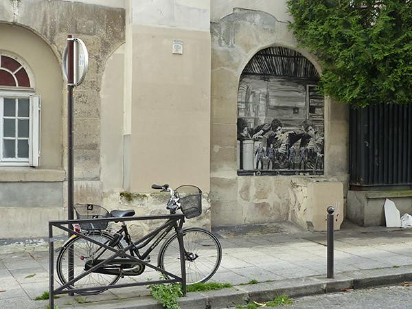 fresque et vélo