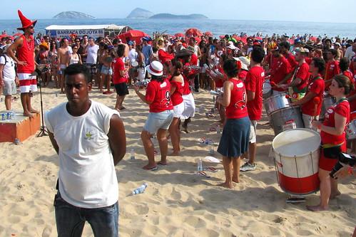 Carnaval en Playa de Ipanema