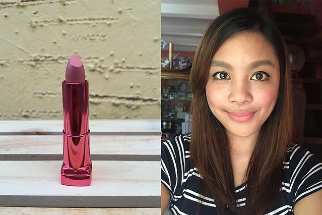 Salmon Pink - Patty Villegas - The Lifestyle Wanderer - Maybelline - Rosymatte - Colorsensational - Matte - Kylie Lipkit Dupes - Beauty Blogger - Lippies