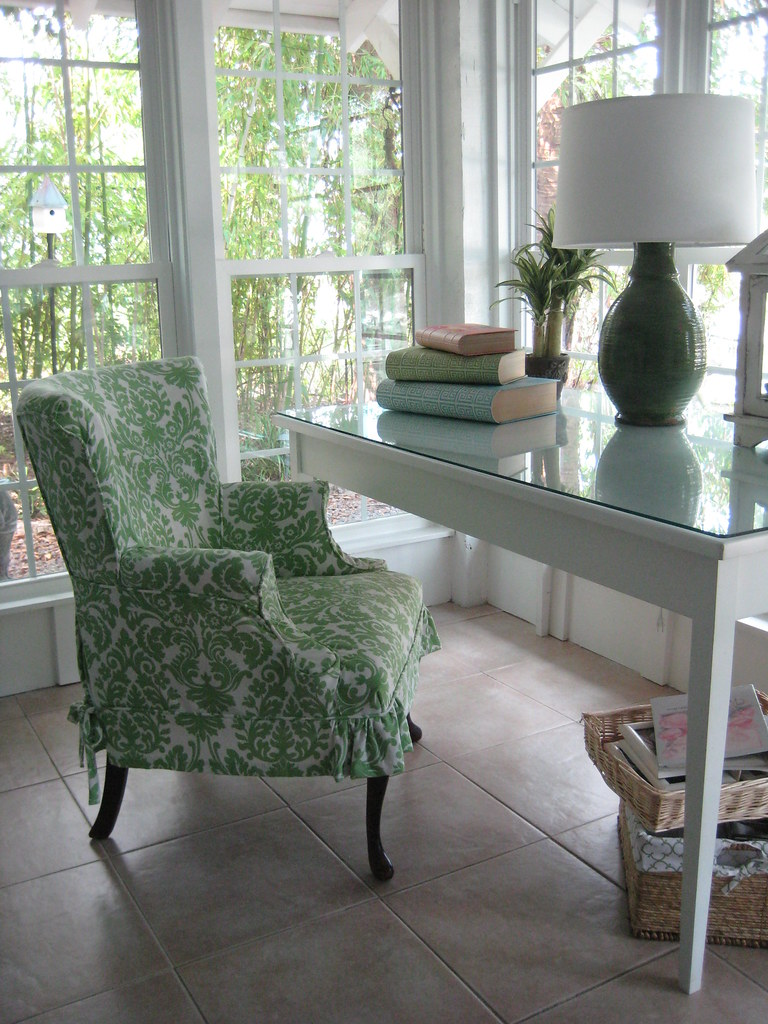 cottage style desk area - Home Decorating Styles List