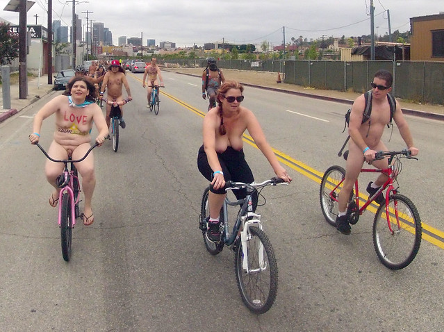LA World Naked Bike Ride (833)