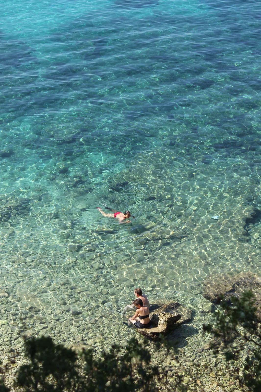 Bol Croatia Zlatni Rat crystal clear water