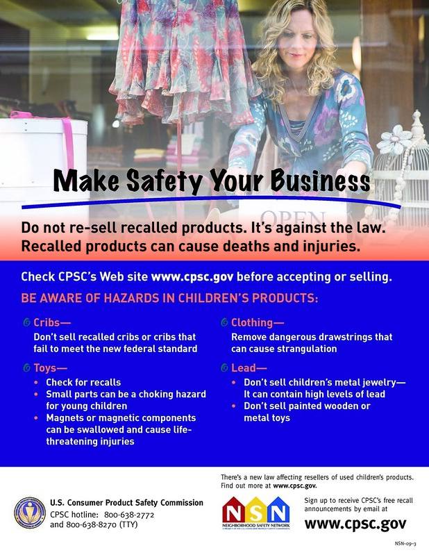 Resale/Thrift Stores: Make Safety Your Business