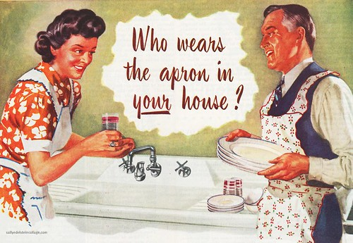 Who wears the Apron in the Family | by Retroarama