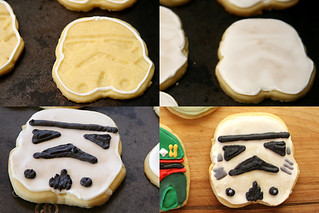 star wars cookies 5 stormtrooper | by crumblycookie