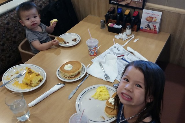 IHOP with Daddy and Pineapple Triangle Market | shirley shirley bo birley Blog