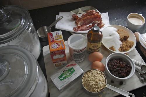 bacon oatmeal raisin cookies | :::recipe blogged::: | tracy benjamin ...