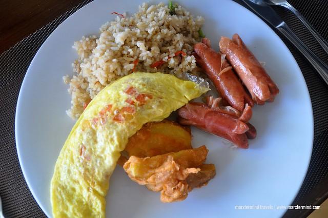My Breakfast at Rinjani Restaurant Holiday Resort Lombok