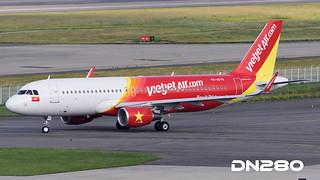 VietJet A320-214 msn 7170