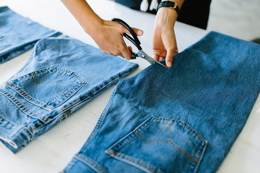 How to make jeans shorts, 4 ways